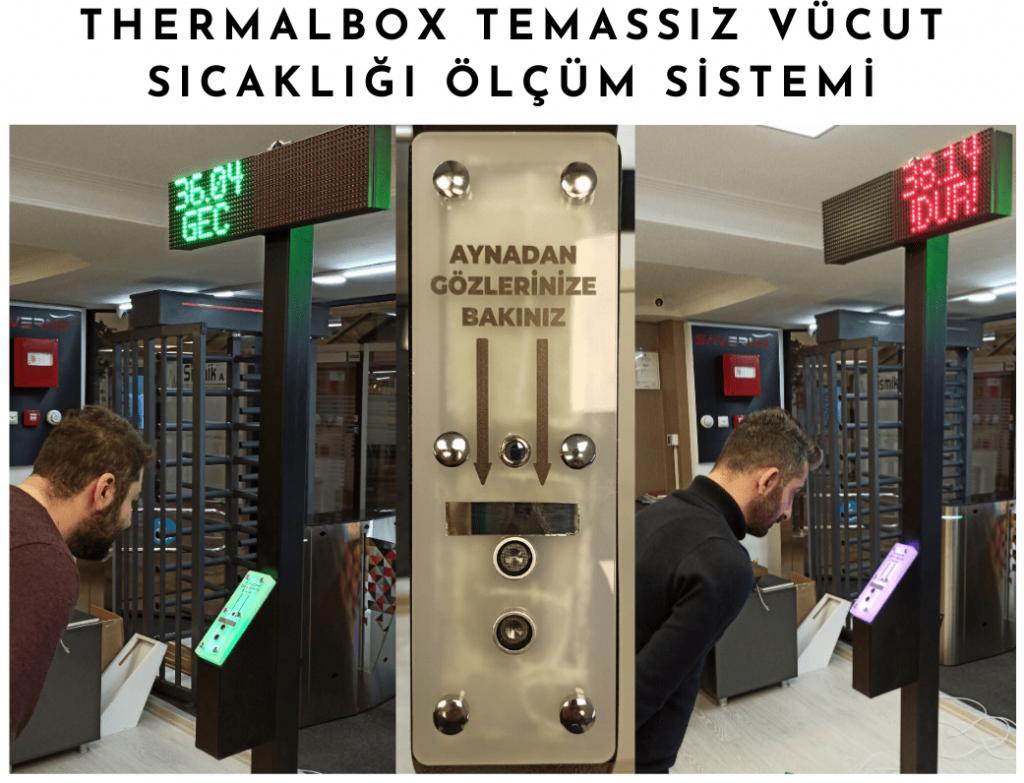 temassız ateş ölçer, vücut ısısı ölçüm sistemi